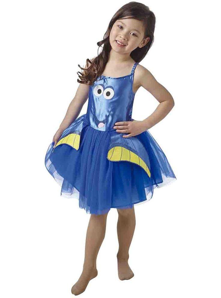 Disfraz oficial de Dory en Buscando a Dory para niña