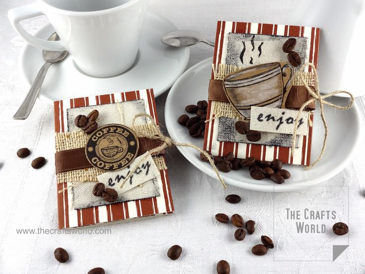 Spread the loveGift card holders made for Canvas Corp Brands   Enjoy little things like a warm cup of coffee spent on me! Make this little gift card holders to place a coffee gift card and some nice words. Embellish them with cuttings from the Canvas Corp Beans and Bads paper collection, some burlap and …
