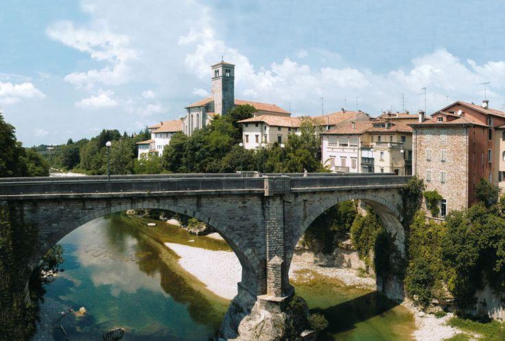 Ponte del Diavolo a Cividale del Friuli: il terzo più bello d'Italia