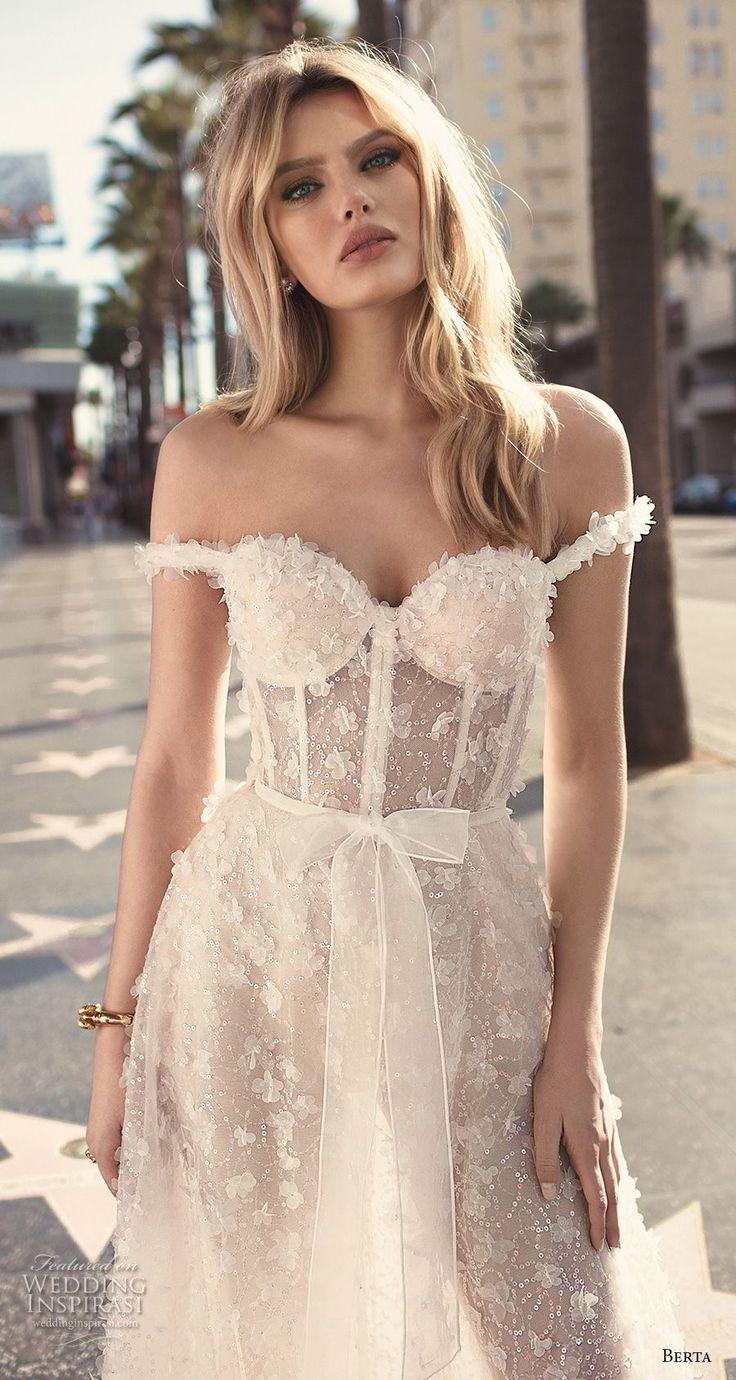 Lace bra under dress september 2019  best WEDDING DRESSES images on Pinterest  Bridal gowns Evening
