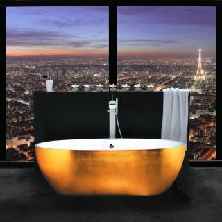 : Bathroom Design, Paris, Luxury Bathroom, Eiffel Towers, Modern Bathroom, Bathtubs, The View, Dreams Bathroom, Cities View