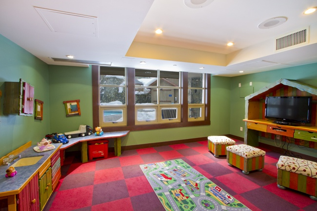 Legends Kids games room, including an Xbox Connect
