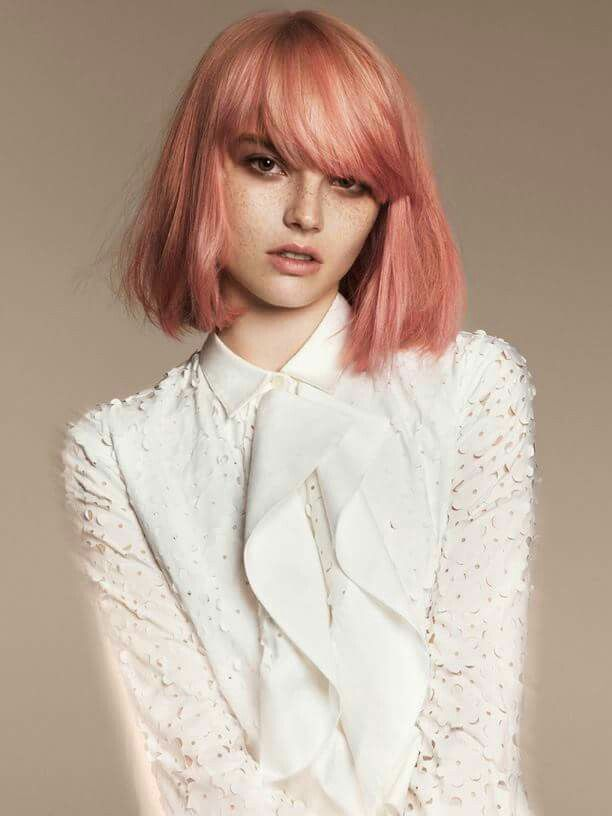 love #peach #hair                                                                                                                                                     More