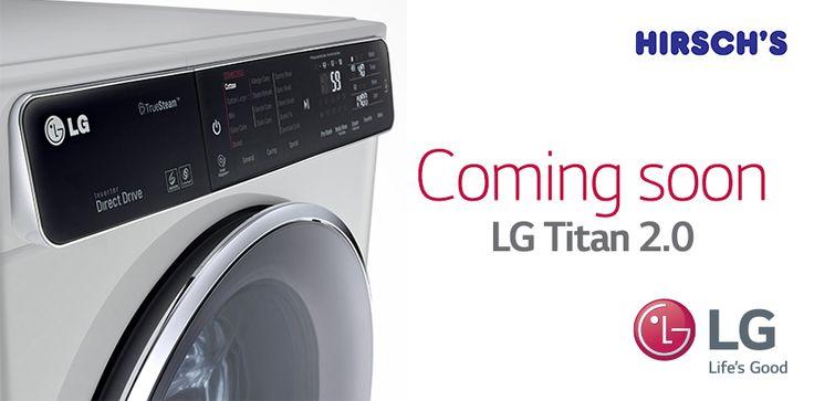 LG INTRODUCES TITAN 2.0 WASHING MACHINE