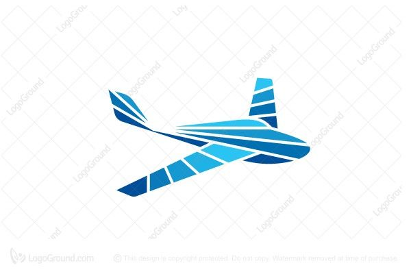 Logo for sale: Unique Airplane Logo
