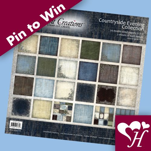 Follow us and repin for a chance to win. A Designer Paper Pad giveaway... 2 winners will be random selected. Contest closes Dec. 22nd, 2013 at 11:59 PM. Winners will be announced in a Pin on Dec.23, 2013. Good Luck!