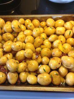 SanneMad: Babykartofler med rosmarin