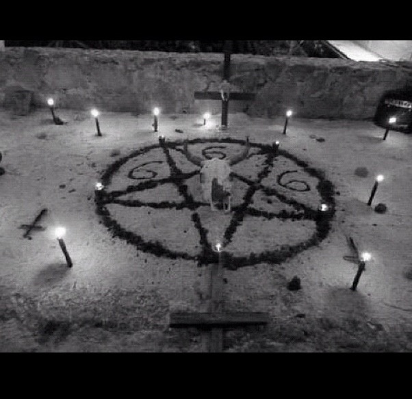 Satanic rituals this is what we want out scene to look like but on a smaller scale due to the limited space, we invision to have.