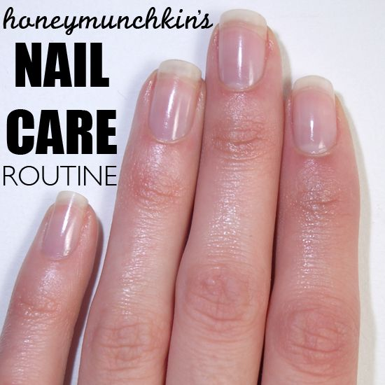 My Nail Care Routine... Also has a great example how OPI Nail Envy helps curve a flat nail! I so need this!!