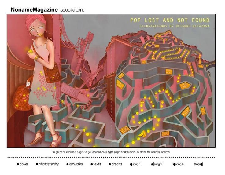 NNM.Issue #8 exit  Heisuke Kitazawa