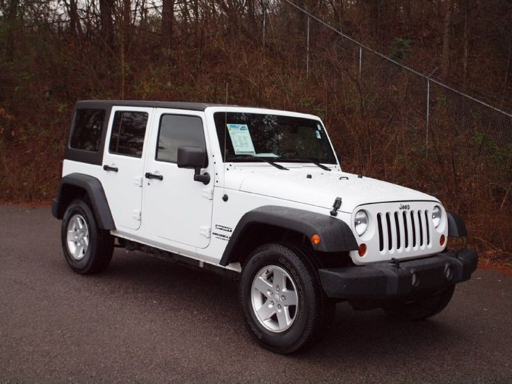 2008 jeep wrangler unlimited x white 4dr - Google Search
