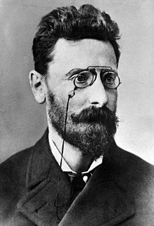 Joseph Pulitzer, a Hungarian born journalist and newspaper publisher. Best known for the Puitzer Prize, named after him and established by money he bequeathed to Columbia University.
