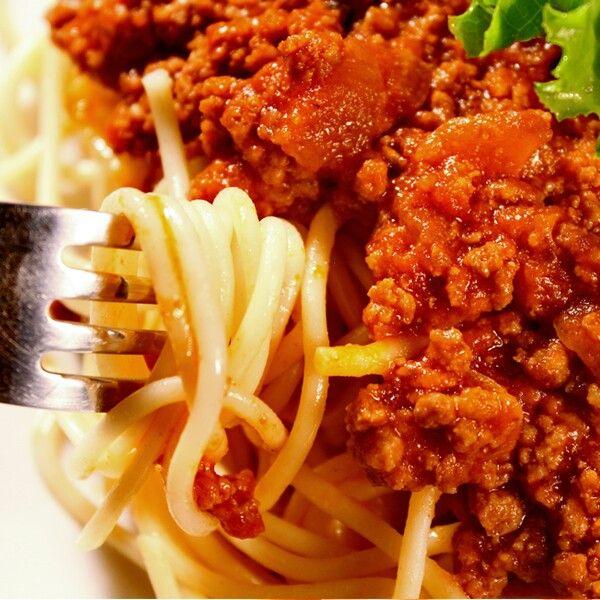 Italian Meat Sauce And Pasta Recipe — Dishmaps