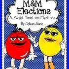 This is a fun twist on teaching elections. Students will taste test 4 different M&M varieties. They will describe the candidates (M&M's), c...