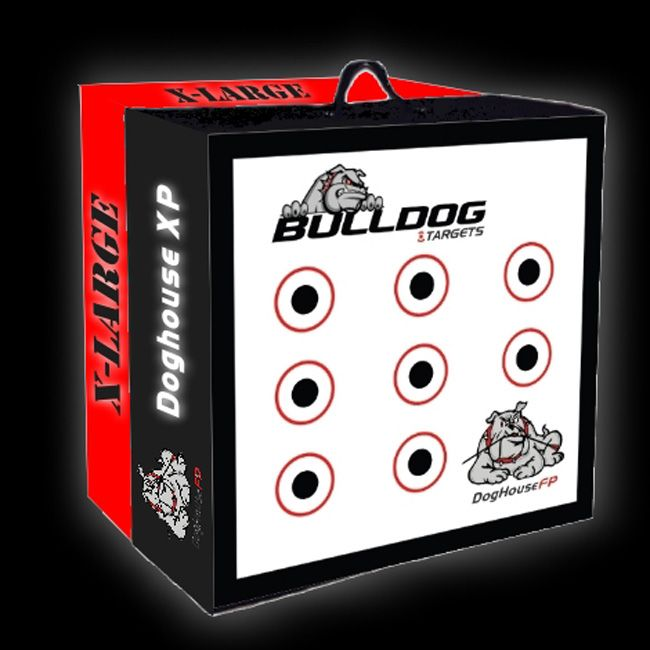 Bulldog Doghouse XP Crossbow Target by Bulldog Targets #Crossbow #Target #Archery #Shoot #Hunt   Product Page - http://www.thecrossbowstore.com/BullDog-DogHouse-XP-Archery-Target-p/bulldog-dhxp.htm
