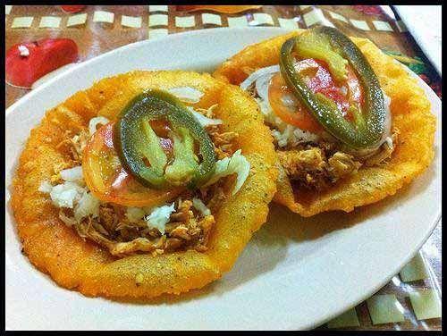 Belizean Salbutes | Food & Recipes | Ambergris Caye Belize Message Board