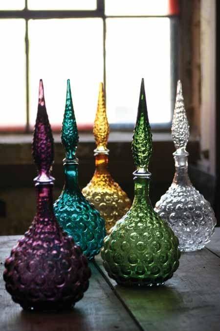 I miei Bohemian estetica vintage-look bottiglie genio, via origincrafts.com