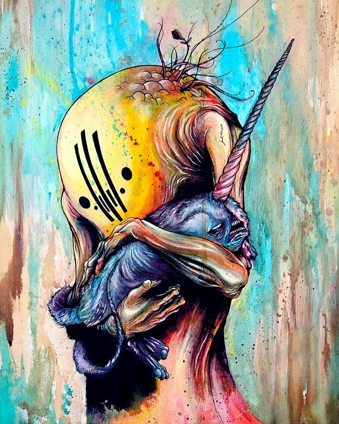 'Goodnight, Lava' by Alex Pardee