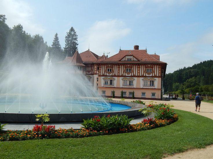 Kolonada (mineral water) - Luhacovice, Czech Republic