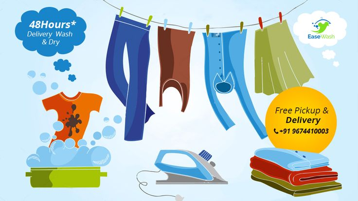 Online Laundry Service #Kolkata Ease Wash Laundry Services Private Limited