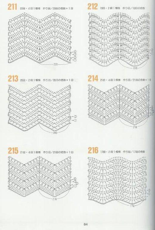 403 best Crochet Diagrams/Diagrammi Uncinetto images on Pinterest ...