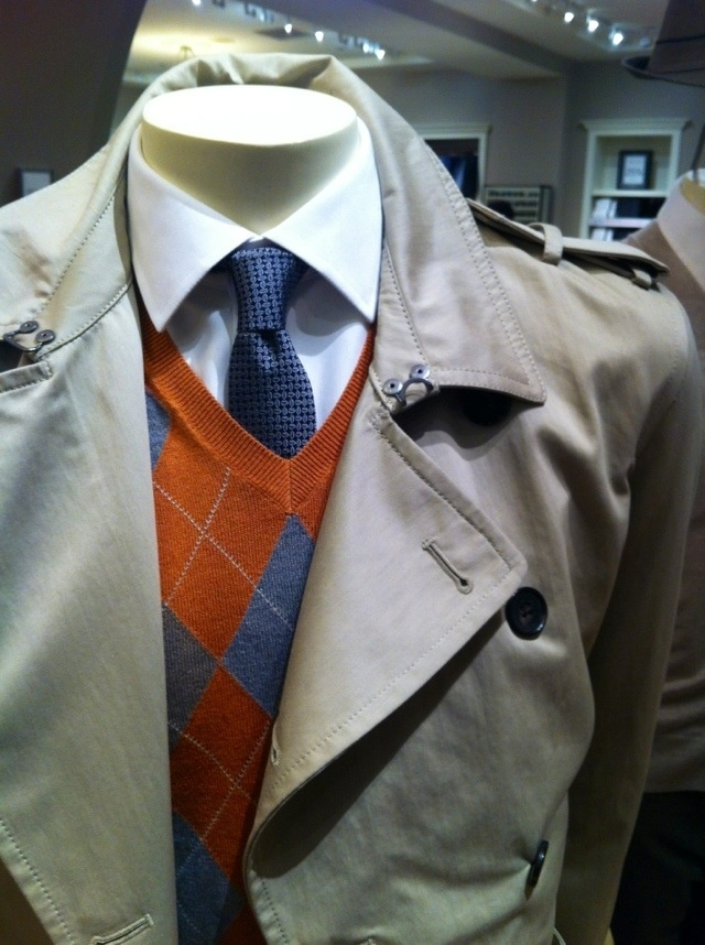 Noteworthy: Stylish Top Coats at Banana Republic