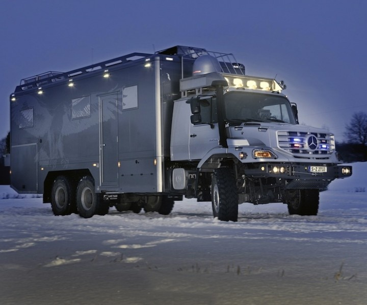 Mercedes Zetros 2733 6x6 camper. | Overlanding rigs ...