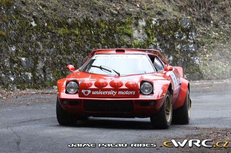Sanremo Rally Storico 2013 Erik Comas - Edoardo Paganelli Lancia Stratos H