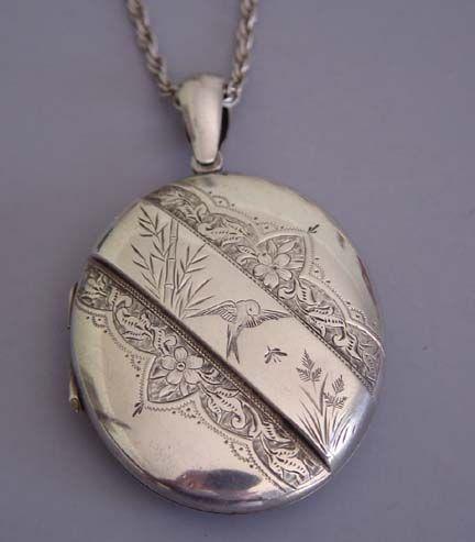 Victorian Bird Motif Jewelry