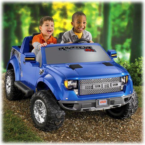 power wheels ford f 150 svt raptor blue