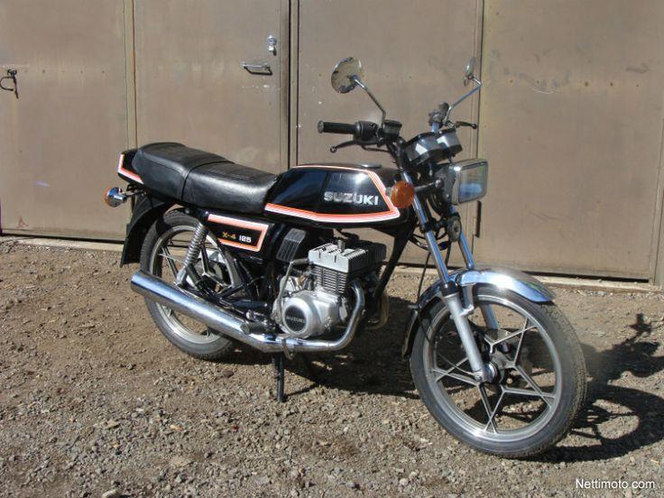 suzuki gt 125 x4 the first bike for me 2 stroke 2. Black Bedroom Furniture Sets. Home Design Ideas