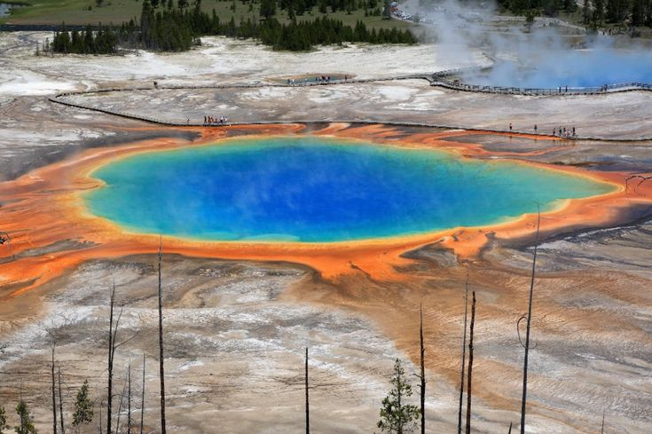 Yellowstone - grand prismatic lake