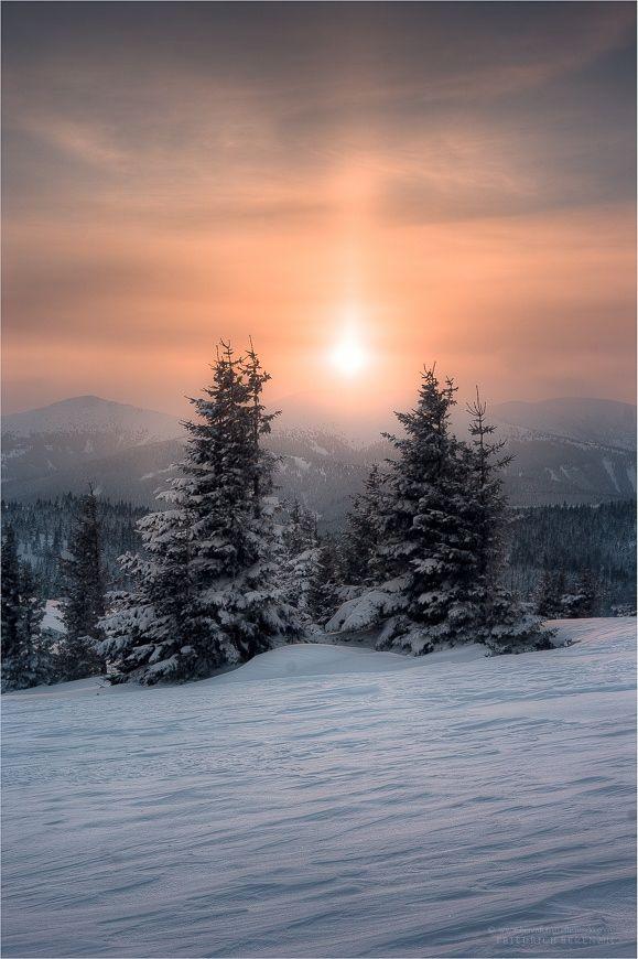 Photograph Wintereinbruch by Friedrich Beren on 500px