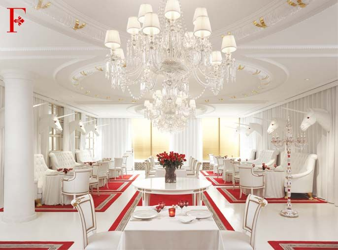 Faena Hotel restaurant                                 Buenos Aires, Argentina                     Designed by Phillipe Starck