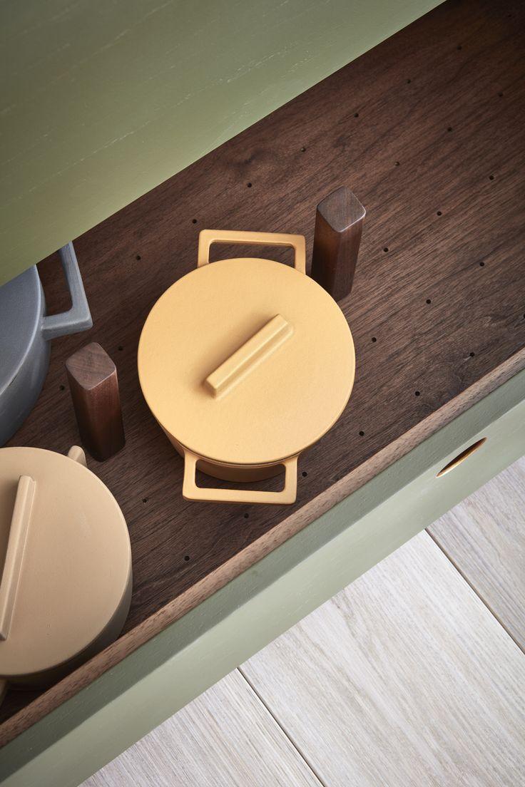 Terracotta Pots By Sicilian Designer Stefania Vasquez For Sambonet Italy  (pic: Naked Kitchen Via Ollie U0026 Sebs Haus)