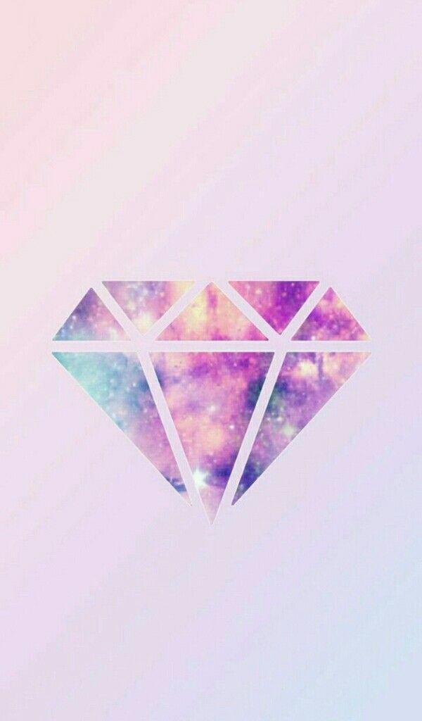 Pin By Love Kpop On خلفيات كيوت Pink Diamond Wallpaper Cute Galaxy Wallpaper Diamond Wallpaper Iphone