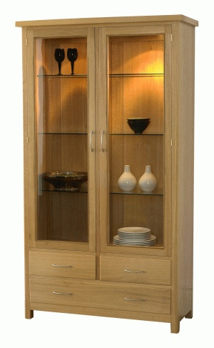Pateley Display Cabinet By Royal Oak Furniture