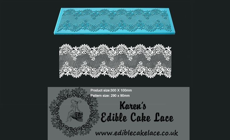 Victorian Rose Wine - 3D HD Cake Lace Mat