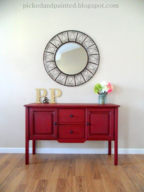 Hi guys! Are you tired of seeing red furniture yet? I really hope not because I have a few more custom red pieces I will be sharing in the ...