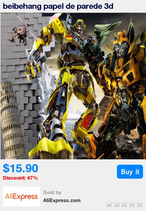 Beibehang Papel De Parede 3d Transformers Photo Wallpaper Optimus Prime  Wall Murals Boy Kid Interior Bedroom
