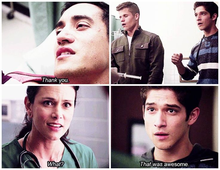 #TeenWolf >> Ethan's face was so real, like he was soooo relieved that Danny was okay. But then again, everyone loves Danny. :)
