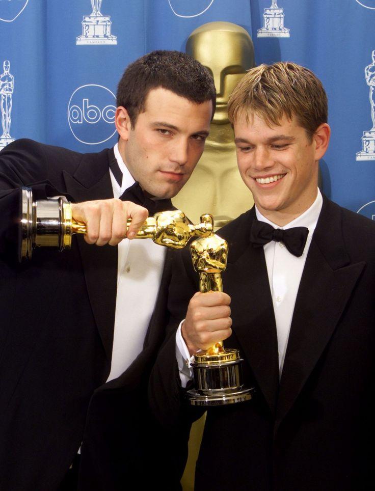 Ben Affleck and Matt Damon - Oscar winners, for screenplay Good Will Hunting www.thewriteteachers.com