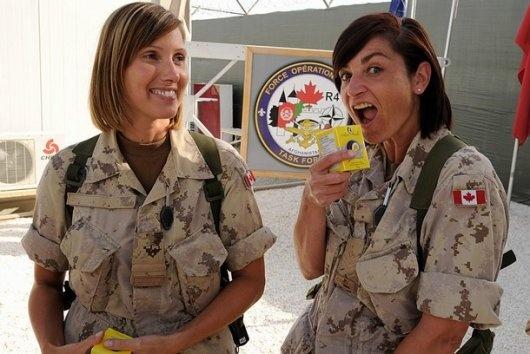 Canadian army women