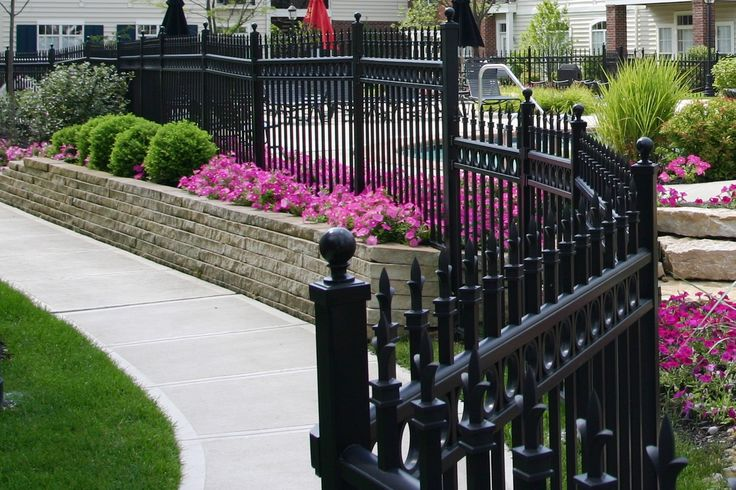 Awesome Metal Fence Gate Designs 16 32 31 19 Decorative Metal Fences And Gates  Buildipedia