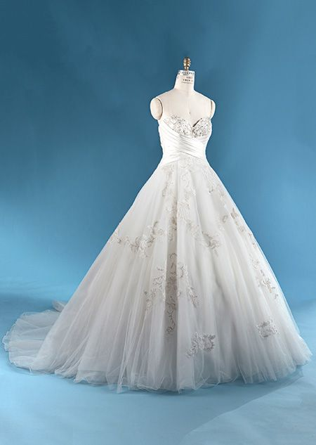 The Snow White wedding gown from the Alfred Angelo Bridal Collection