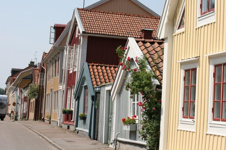 The streets of Kalmar city, Linköping.