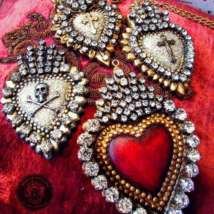 """76 Likes, 24 Comments - MADONNA ENCHANTED OOAK JEWELRY (@madonnaenchanted) on Instagram: """"Been working on these ooak pendants. Getting ready to list a couple in my Etsy shop. #sacredheart…"""""""