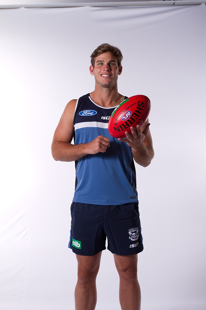 Geelong Cats at the ISC photoshoot