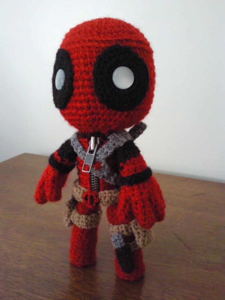 Amigurumi Crochet Dress Pattern : DeadPool Sackboy by Sackboyncostume.deviantart.com on ...