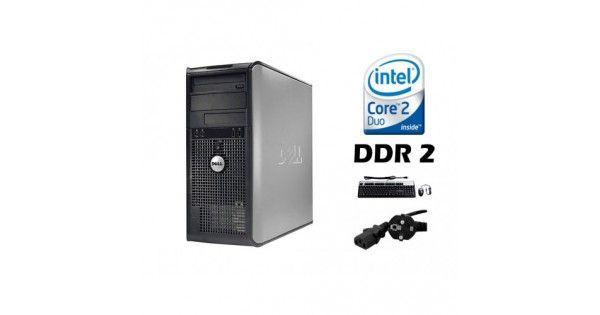 Calculator Dell Optiplex 755 Tower, Intel Core 2 Duo E6750, 2.66 GHz x 2, 2GB RAM DDR2, 250GB SATA, DVD-ROM, PCIEProcesor: Intel Core 2 Duo E6750, 2.66GHz x2 Memorie RAM: 2GB DDR2 Placa video: integrata pe placa de baza Placa de retea: integrata pe placa de baza Placa de sunet: i